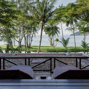 Seavana Beach Resort in Ko Mak: Jacuzzi Balcony Seaview