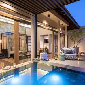 The Sarojin à Khao Lak: Jacuzzi Pool Suite | terrace