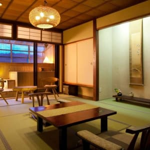 Hidatei Hanagoui Ryokan in Takayama: Japanese Room with openair bath