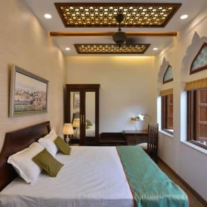 Haveli Dharampura in Delhi: Jharoka Room | Bedroom