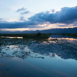 Inle Princess Resort in Inle Lake: Lake Front View Chalet