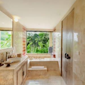 Wapa di Ume Sidemen à Ouest de Bali: Lanai Room | Bathroom
