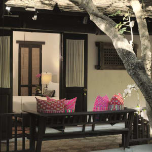 Tamarind Village in Chiang Mai: Lanna Deluxe | balcony