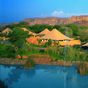 The Oberoi Vanyavilas Wildlife Resort in Ranthambore: Luxury Tent
