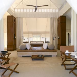 Aman-i-Khas in Ranthambore: Luxury Tent | Entrance