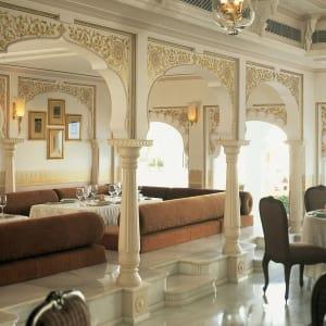 Taj Lake Palace in Udaipur: Neel Kamal Restaurant