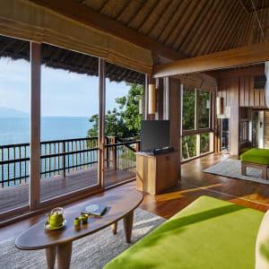 Six Senses Samui in Ko Samui: Ocean Front Pool Villa Suite
