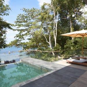 Six Senses Krabey Island à Sihanoukville & Îles: Ocean Front Pool Villa Suite