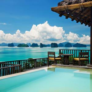 Six Senses Yao Noi in Ko Yao:  Ocean Panorama Pool Villa