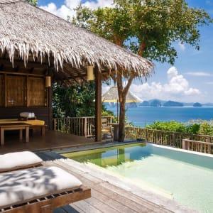 Six Senses Yao Noi in Ko Yao:  Ocean Pool Villa