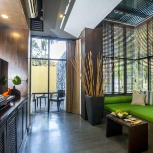 New Star Resort à Ko Samui: Ocean Pool Villa | Living Room