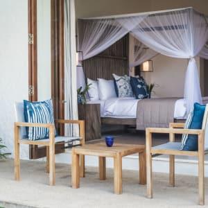 Kumu Beach Hotel à Balapitiya: Ocean View Bedroom