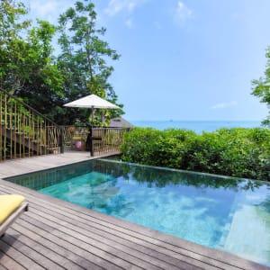Six Senses Samui in Ko Samui: Ocean View Pool Deck