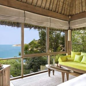 Six Senses Samui in Ko Samui: Ocean View Pool Villa