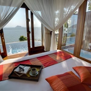 Santhiya Koh Yao Yai Resort & Spa à Ko Yao: Ocean View Pool Villa | Bedroom