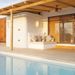 The Royal Sands Koh Rong in Sihanoukville & Inseln:  Oceanview Pool Villa | Terrace