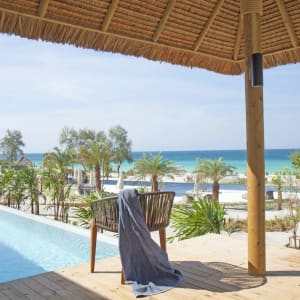 The Royal Sands Koh Rong in Sihanoukville & Inseln: Oceanview Pool Villa | View to the ocean