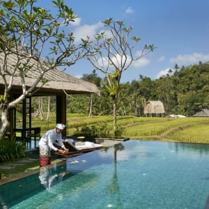 Mandapa, A Ritz-Carlton Reserve in Ubud: One-bedroom Rice Field Pool Villa | swimming pool