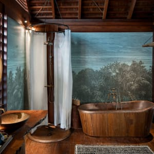 Bawah Reserve: Overwater Suite | bathroom