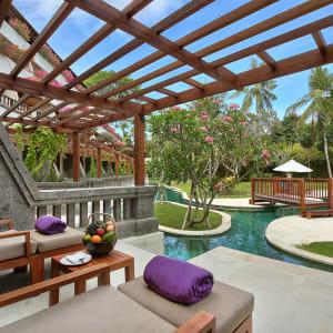 Nusa Dua Beach Hotel & Spa à Sud de Bali: Palace Club Lagoon Access