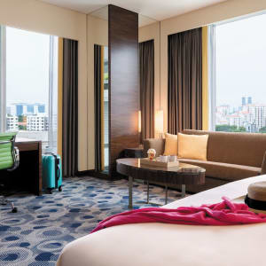 Jen Orchardgateway in Singapur: Panorama Club Room