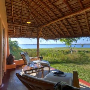 Evolve Back Kuruba Safari Lodge à Parc national de Nagarhole: Pool Hut | Sit-out