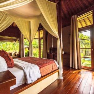 WakaGangga in Südbali: Pool Villa Gardenview | Bedroom