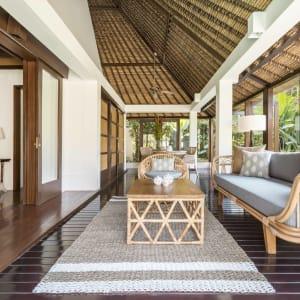 The Pavilions Bali in Südbali: Pool Villa | outdoor area
