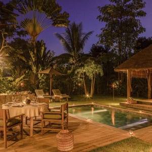 Phum Baitang in Siem Reap: Pool Villa | Private Dinner