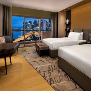 Swissotel The Stamford in Singapur: Premier Harbour View