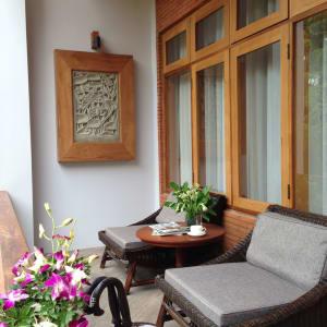 Rupar Mandalar in Mandalay:  Premier Suite   Terrace