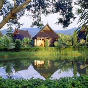 Inle Princess Resort in Inle Lake: Princess Lake View Chalet
