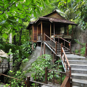 JapaMala Resort in Tioman:  Resort area