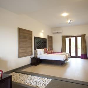Niraamaya Retreats Surya Samudra à Kovalam: Rock Garden