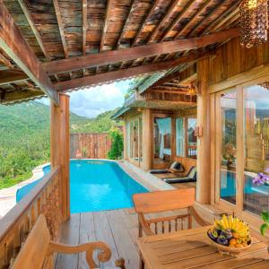 Santhiya Koh Phangan Resort & Spa in Ko Phangan: Royal Grand Pool Villa Suite - 2BR (4 adults) | Balcony
