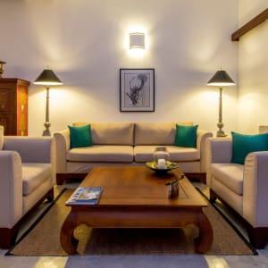 Aditya Resort in Hikkaduwa: Sagara Suite (Ocean View) | Sitting Area