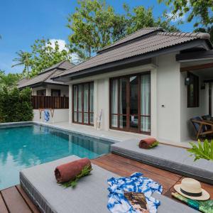 Peace Resort à Ko Samui: Sea Breeze Pool Villa