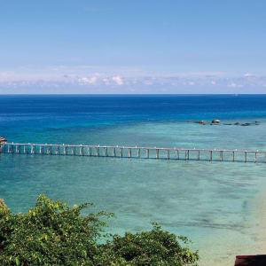 JapaMala Resort in Tioman:  Sea Cliff Chalet | View