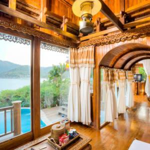 Santhiya Koh Phangan Resort & Spa in Ko Phangan: Sea View Pool Villa
