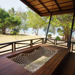 Seavana Beach Resort in Ko Mak: Seavana Deluxe Beachfront