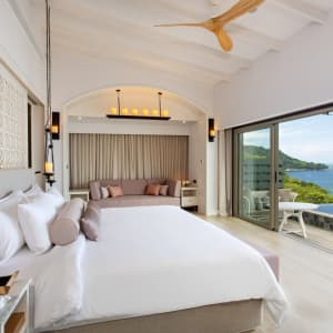 The Shore at Katathani in Phuket: Seaview Pool Villa In Love