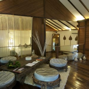 JapaMala Resort in Tioman:  Seaview Sarang | Living Area