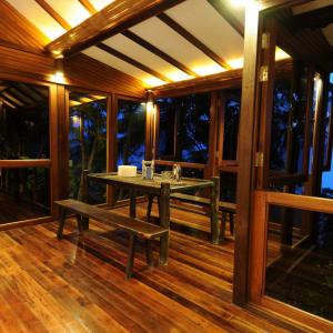 JapaMala Resort in Tioman:  Seaview Sarang | Verandah