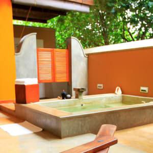 Aditya Resort in Hikkaduwa: Shanthi Suite (Courtyard View) | Plunge Pool