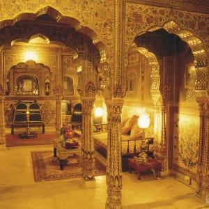Samode Haveli in Jaipur: Sheesh Mahal