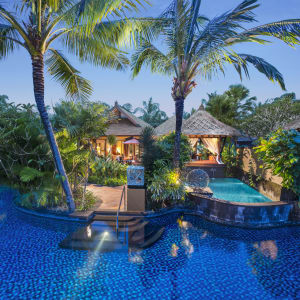 The St. Regis Bali Resort in Südbali: St. Regis Pool Suite | Salt Water Lagoon Access