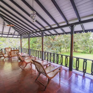 Horathapola Coconut Estate in Yakvila: Standard | Family Suite Balcony