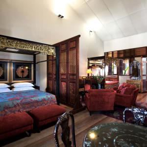 Seven Terraces à Penang: Stewart Apartment | King Bed