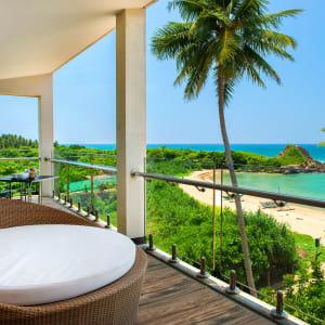 Shinagawa Beach à Balapitiya:  Suite | Balcony