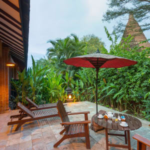 The Hotel @ Tharabar Gate in Bagan: Suite | Terrace with Pagoda View